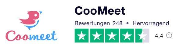 coomeet-trustpilot-zufriedenheit-gut